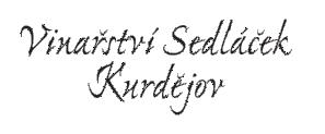 Vinařství Sedláček Kurdějov